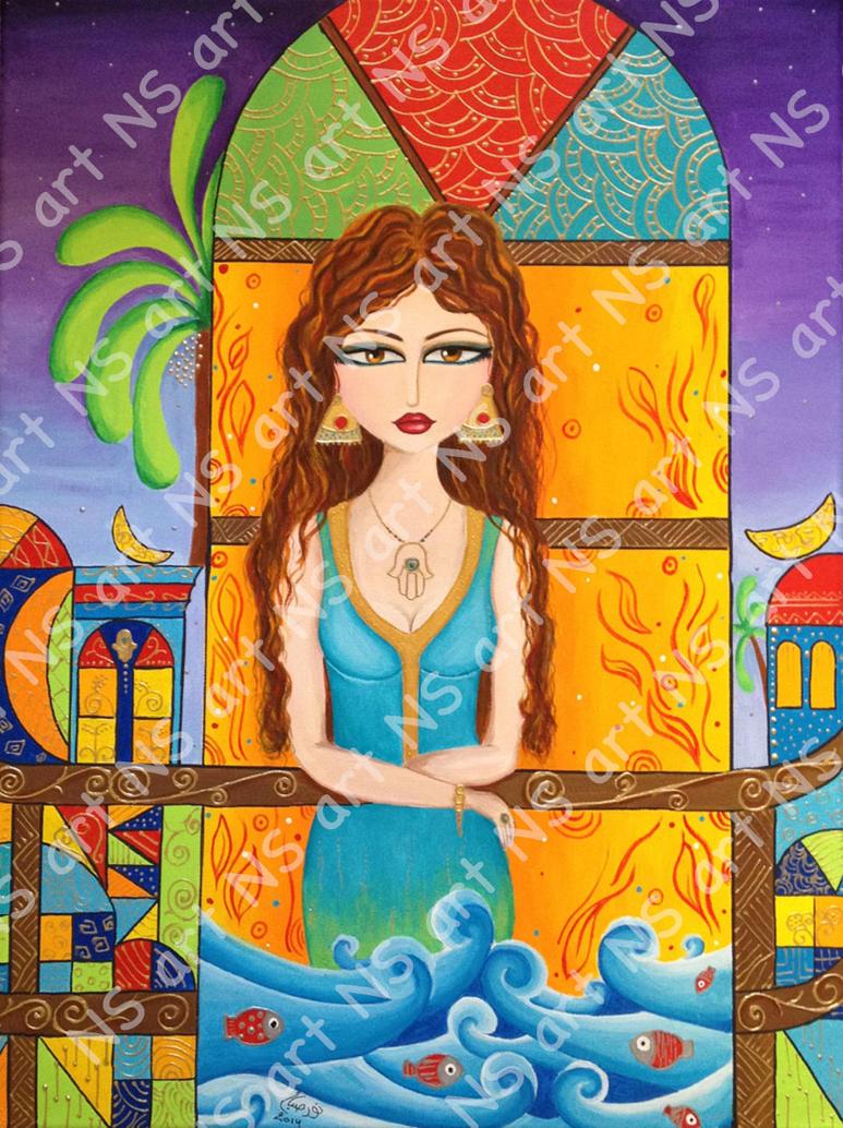 Baghdad girl 4 by noorhenry