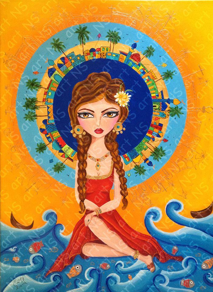 Baghdad girl 5 by noorhenry