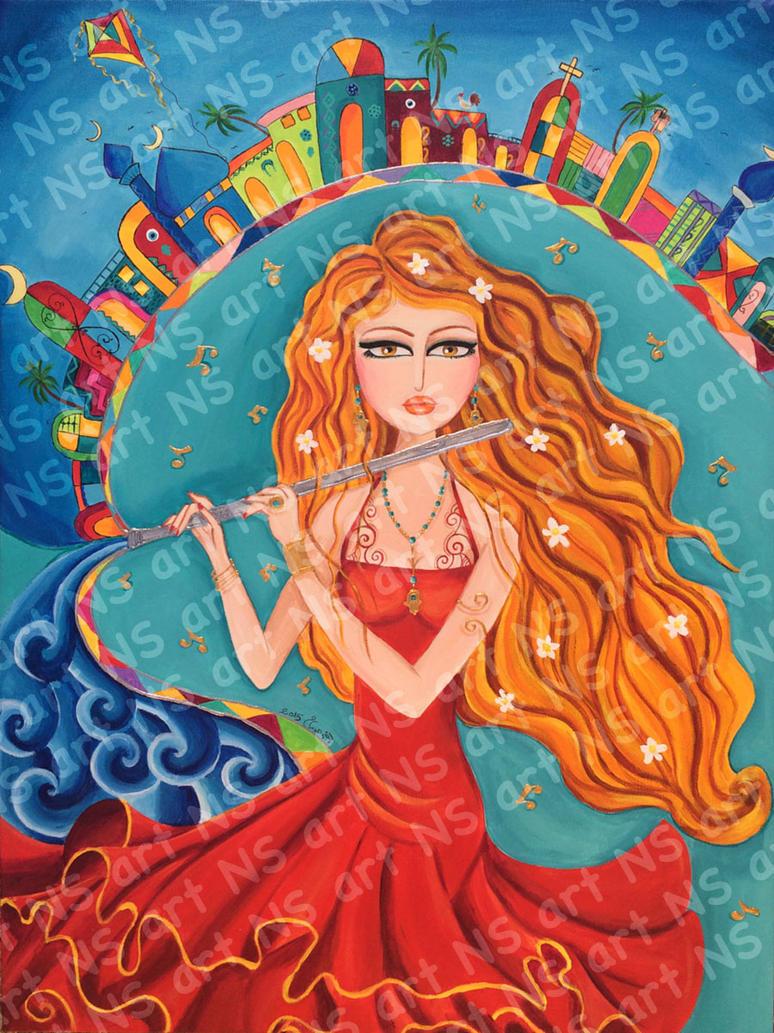 Flute baghdad by noorhenry