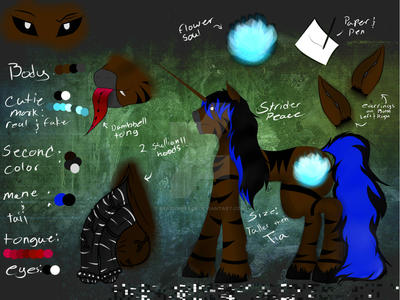 striders New Ref by StriderPeace
