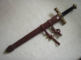 Sword scabbard
