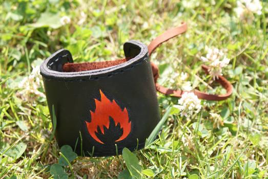 Flaming cuffs