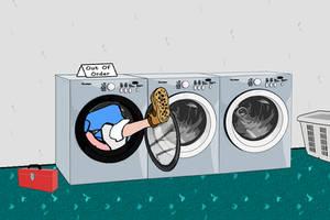 Wash and Wear 7 by Dayeandknight