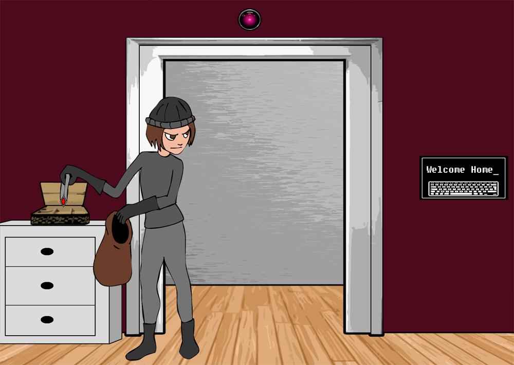 Burglar Boggled 1 by Dayeandknight