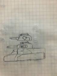 Miniknog light Tank