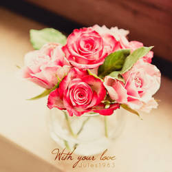 With your love