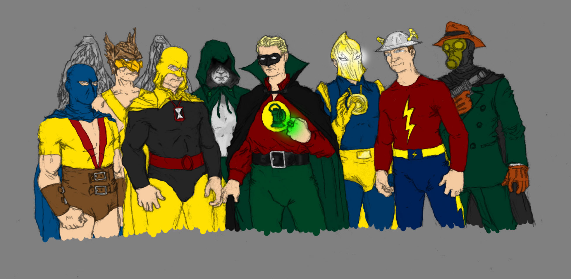 The Justice Society of America by SEELE-02