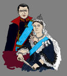 Anno Dracula - The Queen and The Prince Consort