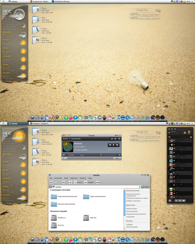 2011 April Desktop by Csige