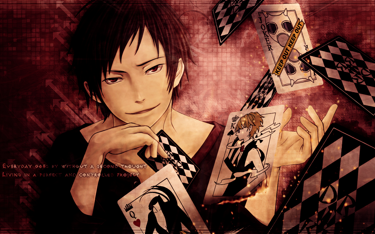 Izaya Wallpaper by umi-no-mizu