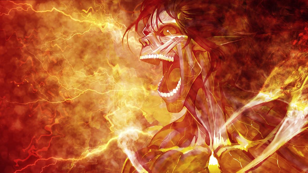 Shingeki no Kyojin Wallpaper - Titan V2 by umi-no-mizu