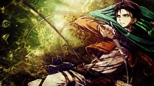 Shingeki no Kyojin Wallpaper - Rivaille / Levi