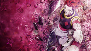 HunterxHunter Wallpaper - Hisoka by umi-no-mizu