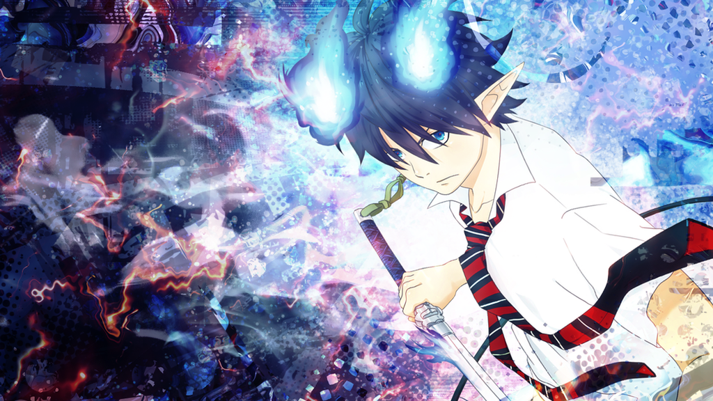 blue exorcist computer wallpapers - photo #40