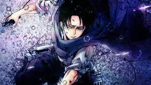 Shingeki no Kyojin Wallpaper - Levi 2 (1080p)
