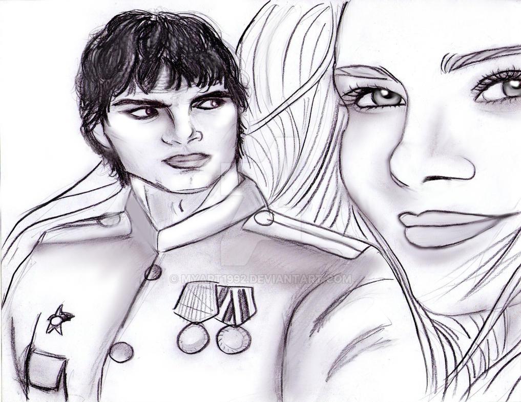 tatiana and alexander by MyArt1992