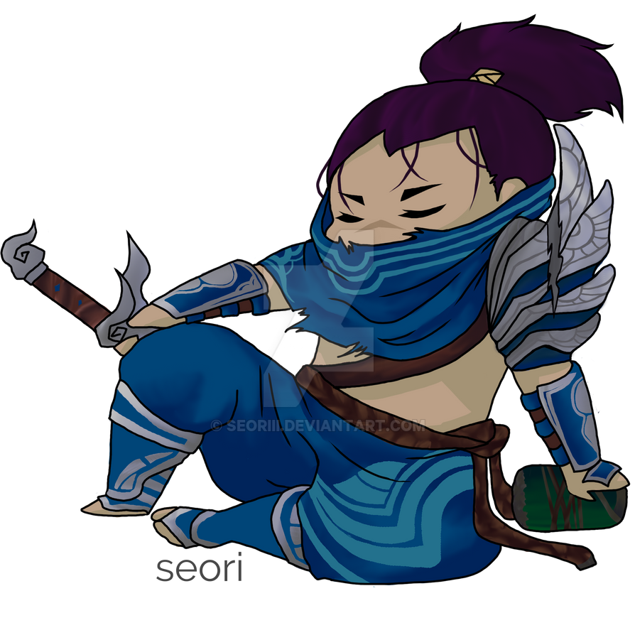 League Of Legends Yasuo By Seoriii
