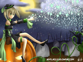 Tonight, Maka is the witch