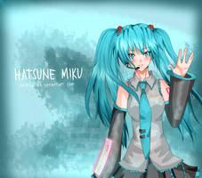 Vocaloid: Hatsune Miku by aehtla023