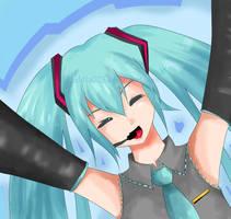 happy happy miku by aehtla023