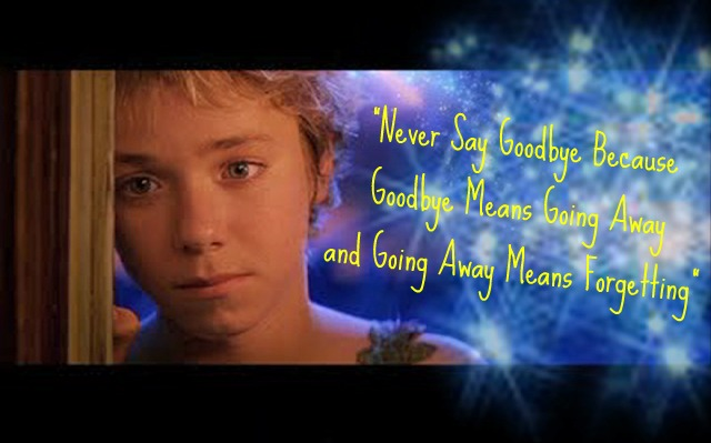 Peter Pan Quote By Jessipan On Deviantart