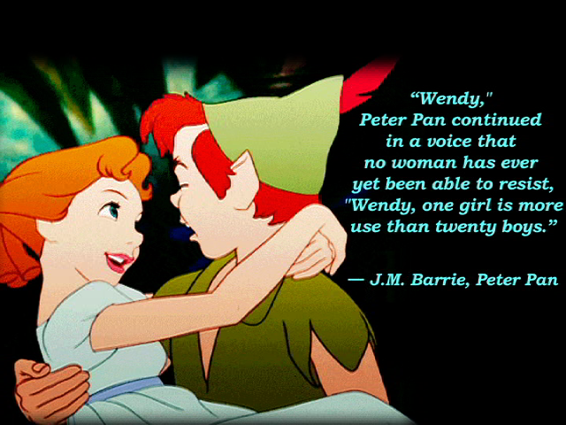 Cute Peter Pan Quote by JessiPan on DeviantArt Cute Peter Pan Quotes