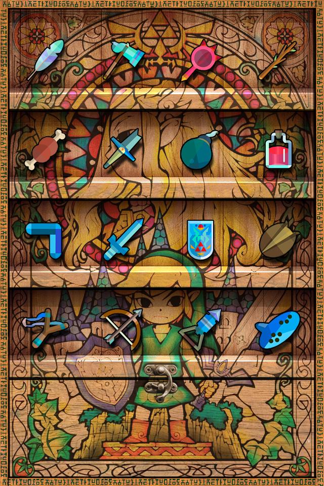 Zelda Iphone WallPaper by FischHead