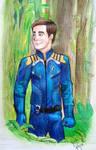 Captain Kirk survival suit by P-Code-Art
