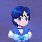 Sailor Mercury by P-Code-Art