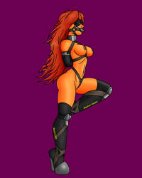 Ponygirl Starfire by Raver1357 by Master-Geass