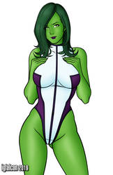 She-Hulk by Igfalcon by Master-Geass