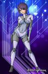 Motoko Kusanagi by Igfalcon by Master-Geass
