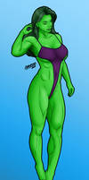 She-Hulk by chancero by Master-Geass
