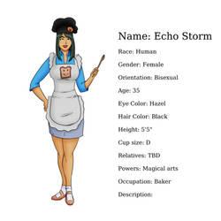 Character Sheet: Echo