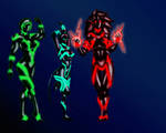 The Pleiades by Master-Geass