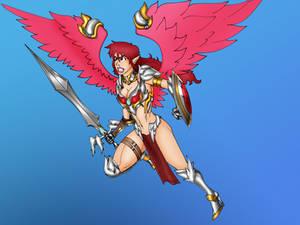 Battle Angel Naia by Dvega