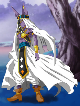 Beerus Universe 7 God of Destruction