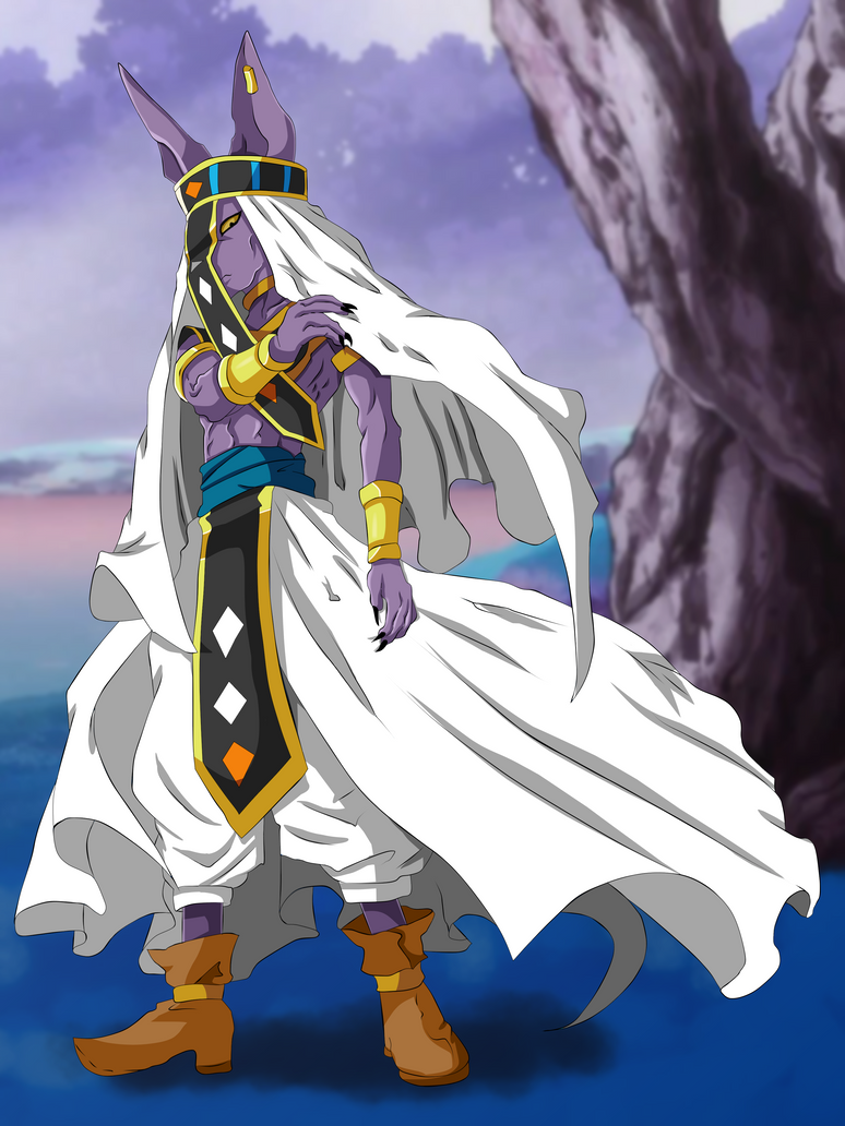Beerus Universe 7 God of Destruction by SchismArt17