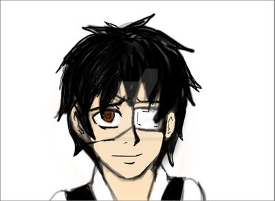 Kaneki doodle by brandflakes7