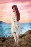 back into the sea ~sunset version~ by GekkoLilly