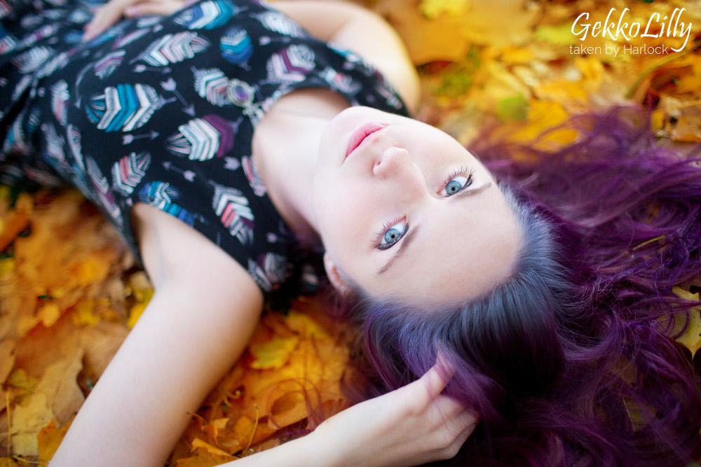 autumn memories by GekkoLilly