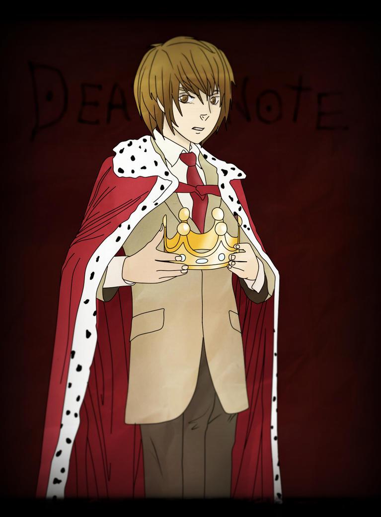Yagami Light (Death Note) by CatrinCasino