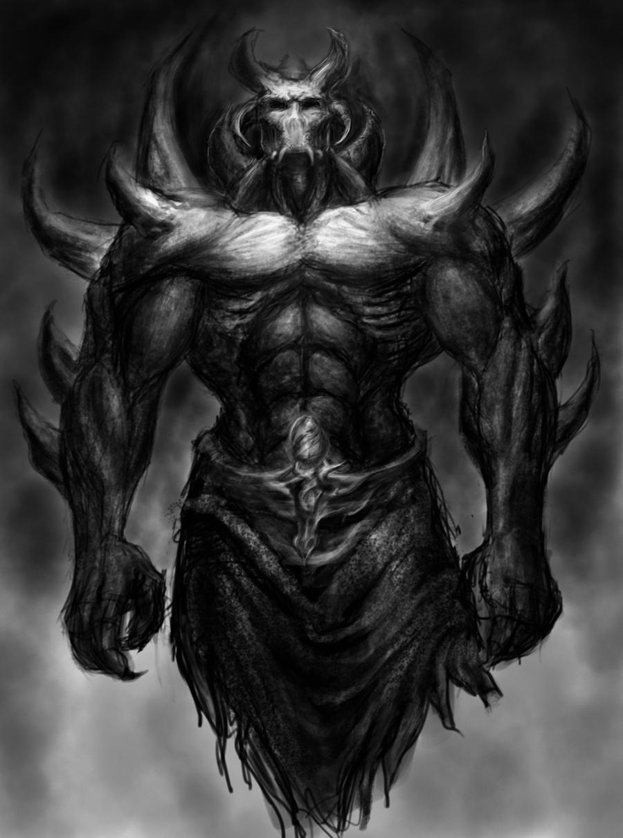 Demonic djinn thing by satan imp on deviantart for Domon pictures