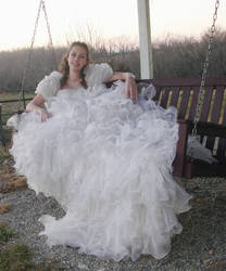 -Wedding gown- by LaughingStockStables