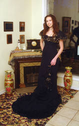 Black gown by LaughingStockStables