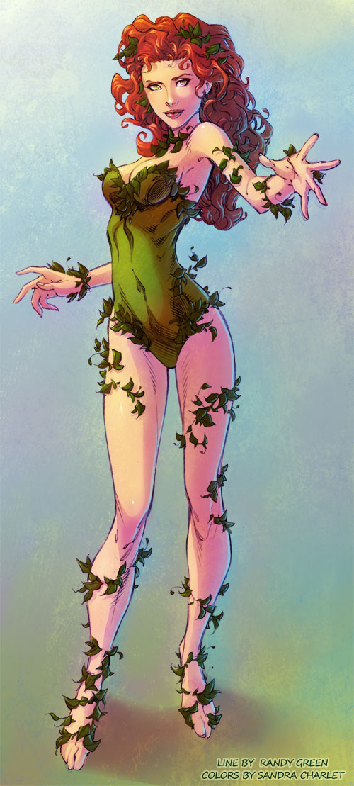 Poison Ivy by SandraCharlet