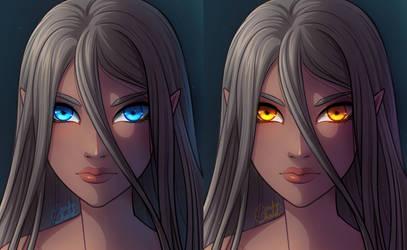 Ocean or Golden eyes