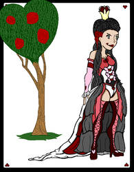 Akeesha as the Queen of Hearts by Nemark