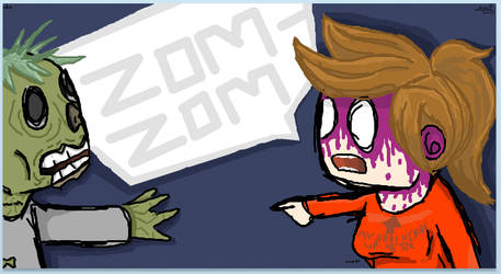 Eeek Zom Zom by Nemark