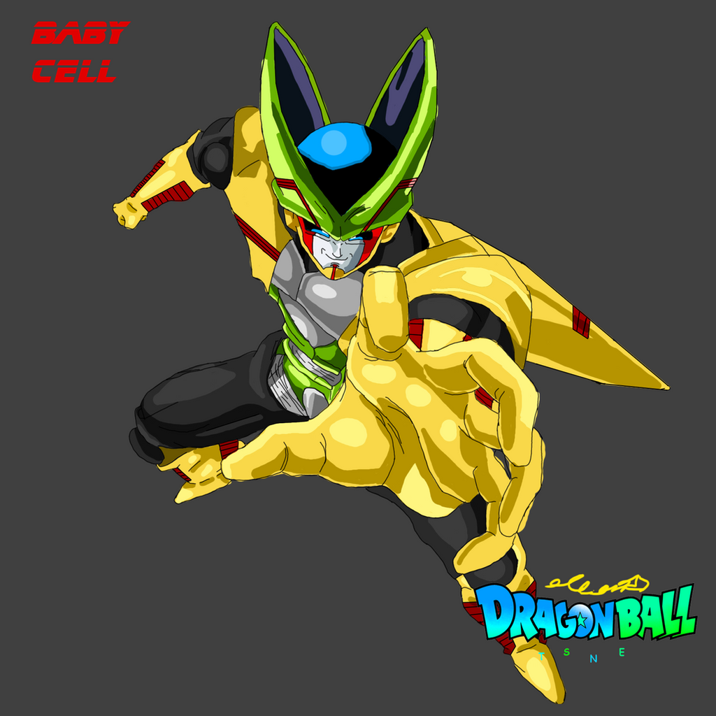 Dragon ball tsne baby cell by elfianmetal on deviantart - Dragon ball z baby cell ...